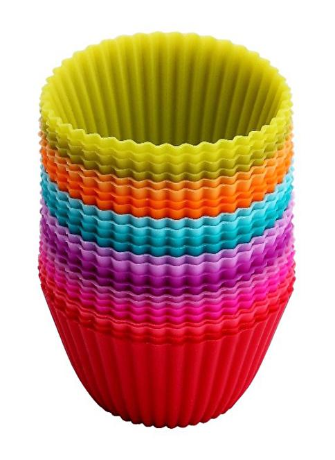 Tantitoni 24Lü Muffin Kalıbı 5-3.3x2.5Cm Renkli